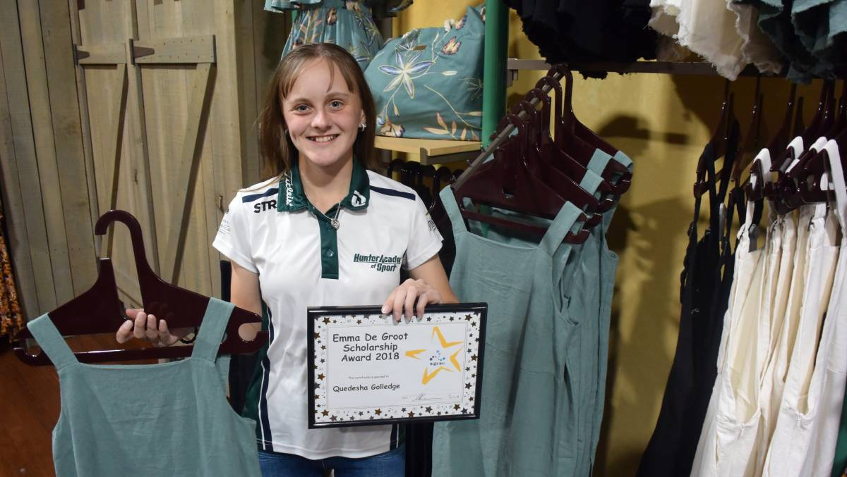 Golf prospect Quedesha Golledge is the Manning River Times-Iguana Sportstar of the Week.