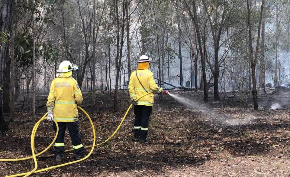Fire permits have been suspended in the MidCoast Local Government Area. Photo: NSW RFS - Lower North Coast Team