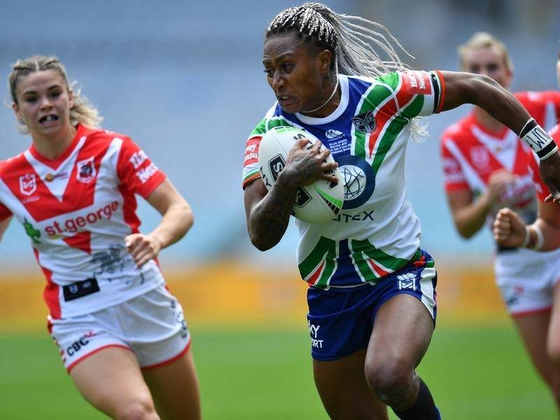 2016 Rio gold-medallist Ellia Green starred in the Warriors' NRLW win over St George Illawarra.